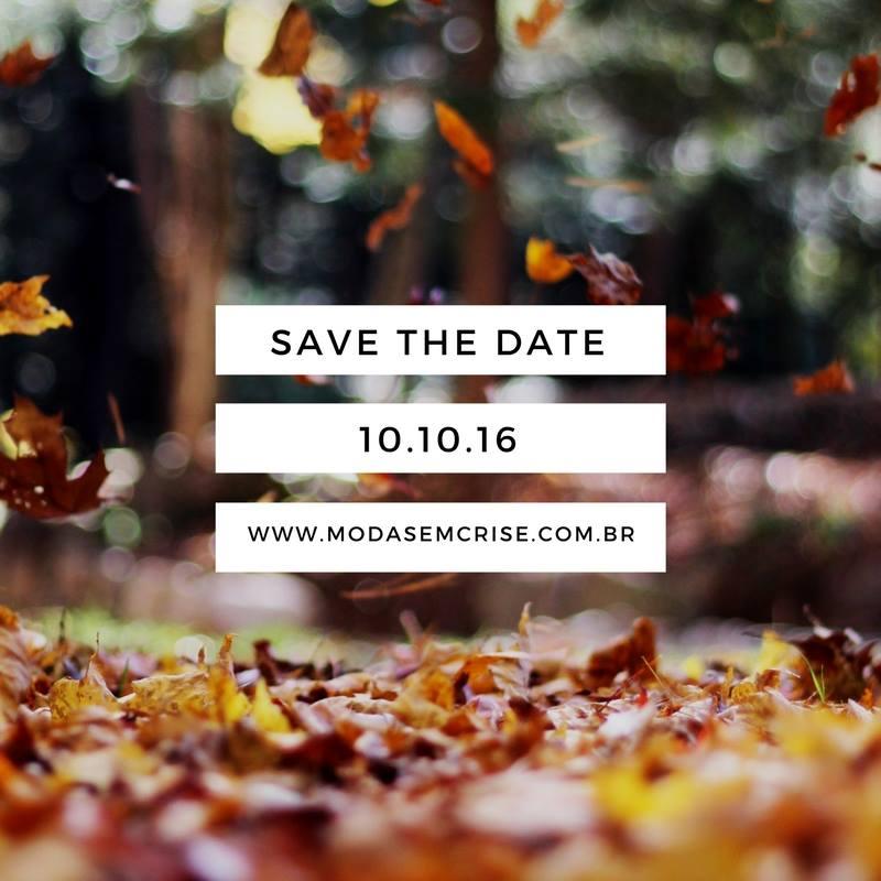 save the date moda sem crise