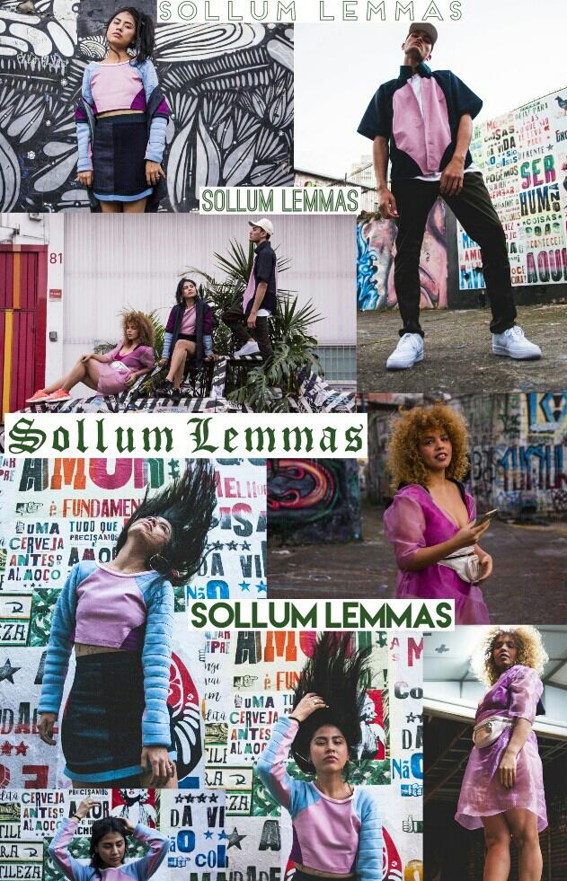 Editorial da coleção Sollum Lemmas - Foto por Victor Ugo - modelos Tati Vidal, Groselyn Chica e Jeremias Senna